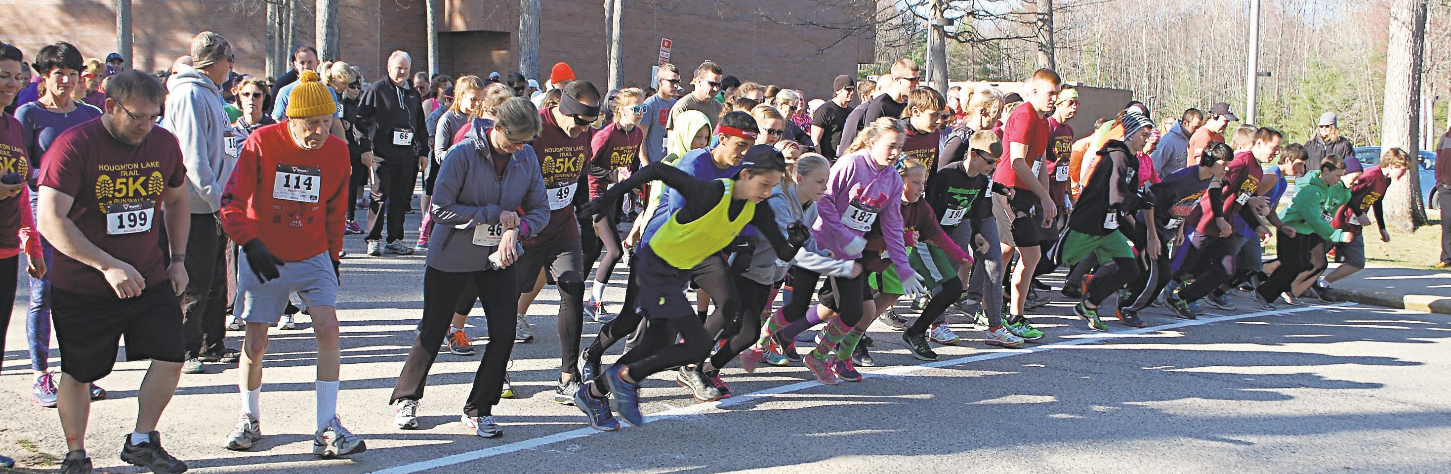 Houghton Lake 5K attracts more than 200 participants