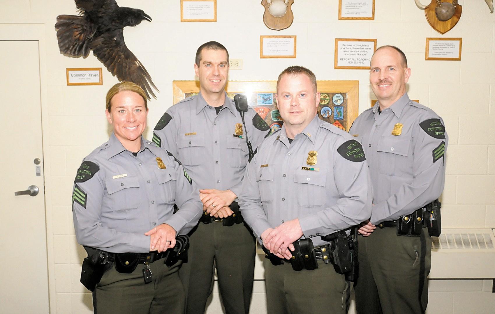DNR Conservation Officers   Houghton Lake Resorter
